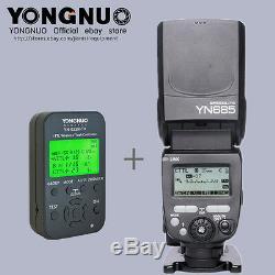 YONGNUO TTL YN685 Flash Speedlite + YN622N-TX Flash controller for Nikon