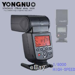 YONGNUO YN-568EX II TTL HSS 1/8000 Flash Speedlite for Canon + diffuser