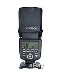 YONGNUO YN560 IV YN560IV Wireless Flash + SF18 Flash Battery Pack Kit 4AA Rechar