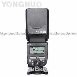 Yongnuo YN685 Wireless Flash Speedlite HSS TTL for Canon 90D 80D 70D 6DII 100D