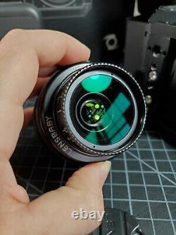 Z Cam E2 4K Cine Camera + Portkeys monitor + Cage + Metabones XL + Lensbaby