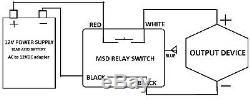 10 Ensembles De 12v DC Sur Interrupteur De Relais 15a Avec Deux Porte-clé Sans Fil Télécommande