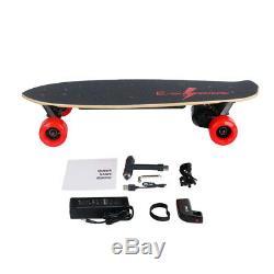 1000w Électrique Moterized Skateboard Longboard Télécommande Sans Fil D'érable Pont