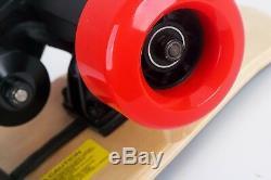 1000w Électrique Planche À Roulettes Longboard Avec Télécommande Sans Fil 7 Mile Range