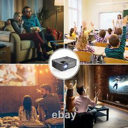 1080p 4k Hd Wifi Bluetooth Smart Home Théâtre Android Led Projecteur Hdmi Vga Av