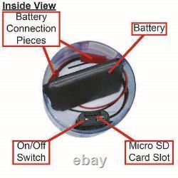 1080p Full Hd Hidden Motion Detection Nanny Spy Camera Bouteille D'eau Dvr Audio