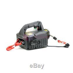 110v / 220v Électrodomestiques Treuil Portatif Sans Fil Télécommande Palan