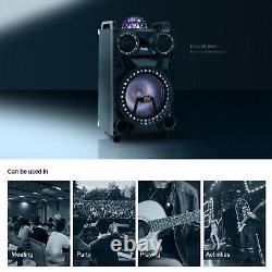 12 3000w Haut-parleur De Partie Bluetooth Portable Rechargeable Basse Lourde Karaoké MIC
