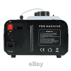 1500 Watt Machine À Brouillard De Fumée 9 Lumières Led Télécommande Dj Party Scène Brumisateur