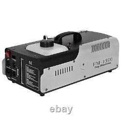 1500w Smoke Fog Machine 9 Lumières Led Remote Control Machine 9 Led Band Dj
