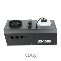1500w Smoke Fog Machine Led Light Rgb 3in1 Vertical Spray Ou 192 Ch Controller