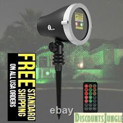 1byone Projecteur De Lumière Laser Extérieure De Noël Avec Télécommande Sans Fil