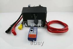 1x Electric Control Winch Box Pack 12v Relais Solénoïde Commutateur À Distance Sans Fil