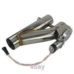 2.5 Dual Ext. Découpe Électrique Sans Fil Télécommande De Décharge De Décharge Vanne Downpipe