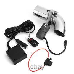 2.5 Kit De Télécommande Sans Fil E-cut Pour Vanne D'échappement Électrique De 63mm