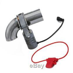 2 Electrique Type De Soupape D'échappement De Contrôle Tuyeau Cut Out Catback Télécommande Sans Fil