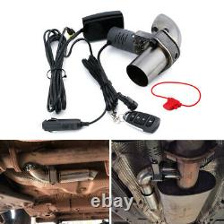 2 Pouces Electric Exhaust Valve Control Downpipe Cut Out Catback Wireless Remote