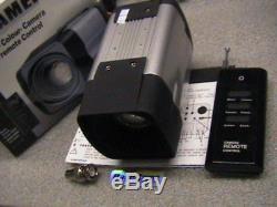 27x Zoom CCD Caméra 12v DC + Rf Télécommande Sans Fil Cctv 700tvl Day Night Cam