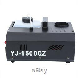 2pcs 1500w DMX 512 Up Plan Machine À Brouillard Brumisateur Upspray Fumée Verticale Withcontrol