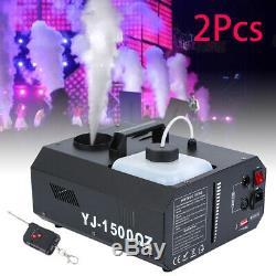 2pcs 1500w DMX Upspray Smoke Machine À Brouillard Up Prise De Vue Verticale Brumisateur Avec Contrôle
