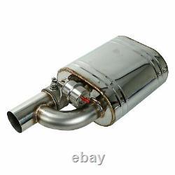 2pcs 3 ' ' / 76mm Silencieux D'échappement Valve Coupe-circuit Avec Un Télécommande Sans Fil