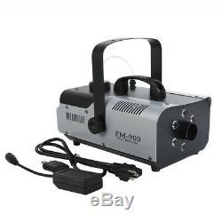 2pcs Rvb 3in1 Machine À Brouillard 6 Led Fogger 900w Télécommande Sans Fil Dj Live Show