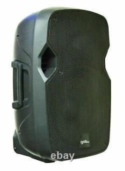 2x Ignite Pro 10 Pro Series Haut-parleur Dj/pa System Bluetooth Playback 1500w