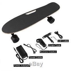 350w Pro Skateboard Moteur Électrique Longboard Sans Fil Conseil Avec Télécommande