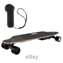 35inch Électrique Planche À Roulettes 350w Longboard Télécommande Sans Fil Longboard Contrôle