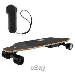 35inch Skateboard Électrique 350w 20 Kmh Longboard Télécommande Sans Fil Rcai Contrôle