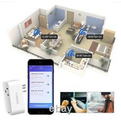 4 Pack Mini Wifi Smart Plug Power Socket Timer Outlet Remote Control Us Seller