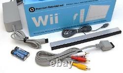 4-remote Nintendo Wii Système De Jeu Vidéo Ultimate Family Bundle Console Set Kit