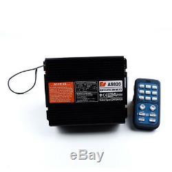 400w 8 Car Sound Avertissement Alarme Incendie Police Sirène Klaxon Haut-parleur Nouveau Système