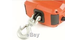 450kg4.6m Électrodomestiques Portable Winch Avec 220 V Télécommande Sans Fil