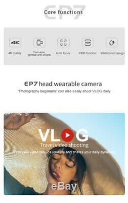 4k Caméscope, Wearable Caméra Vidéo, Mini Boîtier