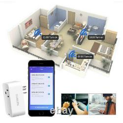4x Télécommande Accueil Wifi Smart Power Socket Wireless Timer Switch Outlet Plug