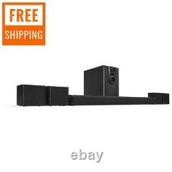 5.1 Bluetooth Speaker System Home Theater Surround Sound Avec Subwoofer