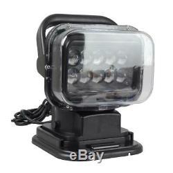 50w Led 360 ° Télécommande Searchlight Camion Bateau Marine Voiture Sans Fil Spotligh