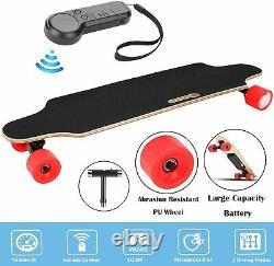 Aceshin Électrique Planche À Roulettes Cruiser Maple Long Board Sans Fil + Télécommande
