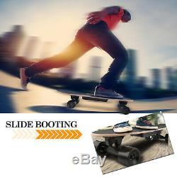 Ancheer Électrique Planche À Roulettes Longboard Sans Fil Conseil Télécommande 350w Motor #