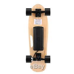 Ancheer Électrique Planche À Roulettes Télécommande Sans Fil Double Moteur Longboard Board #