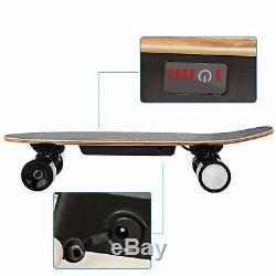 Ancheer Skateboard Électrique Double Moteur Longboard Sans Fil Withremote Contrôle Us