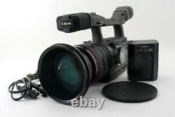 As Is Canon Xh-a1 Camcorder Caméra Vidéo Noire Avec Chargeur Du Japon #5242