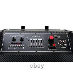 Befree Sound Professional Bluetooth Dj Pa Party Speaker Avec Remote MIC Usb Sd