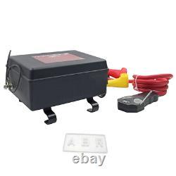Boîte De Contrôle Winch De 12000 Lbs Avec Télécommande Sans Fil Solenoid 12v