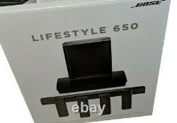 Bose Lifestyle 650 Système De Théâtre À Domicile (noir) Grand Nouveau Factory Seeled
