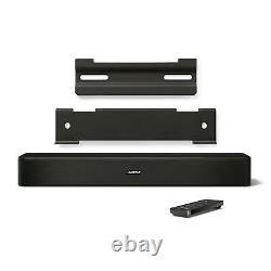 Bose Solo Bluetooth Speaker System Tv Sound Bar Audio Noir Nouveau Meilleur