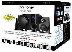 Boytone Bt-225fb Powerful Wireless Bluetooth Home Speaker System 60 W, Radio Fm