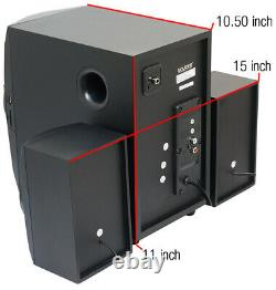 Boytone Bt-324f, Powerful Wireless Bluetooth Home Speaker System 40 W, Radio Fm