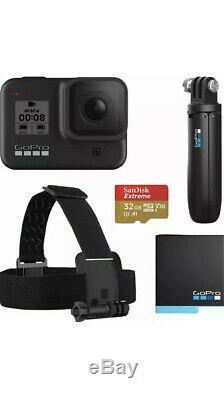 Brand New Gopro Hero8 Noir 4k Caméra D'action Étanche Bundle Spécial Noir